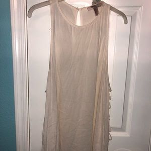 LIKE NEW...Forever 21 muscle style blouse